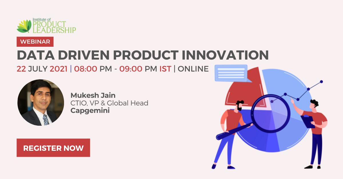 Webinar on Data Driven Product Innovation
