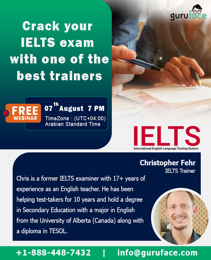 Free Webinar on How to Prepare for your IELTS?