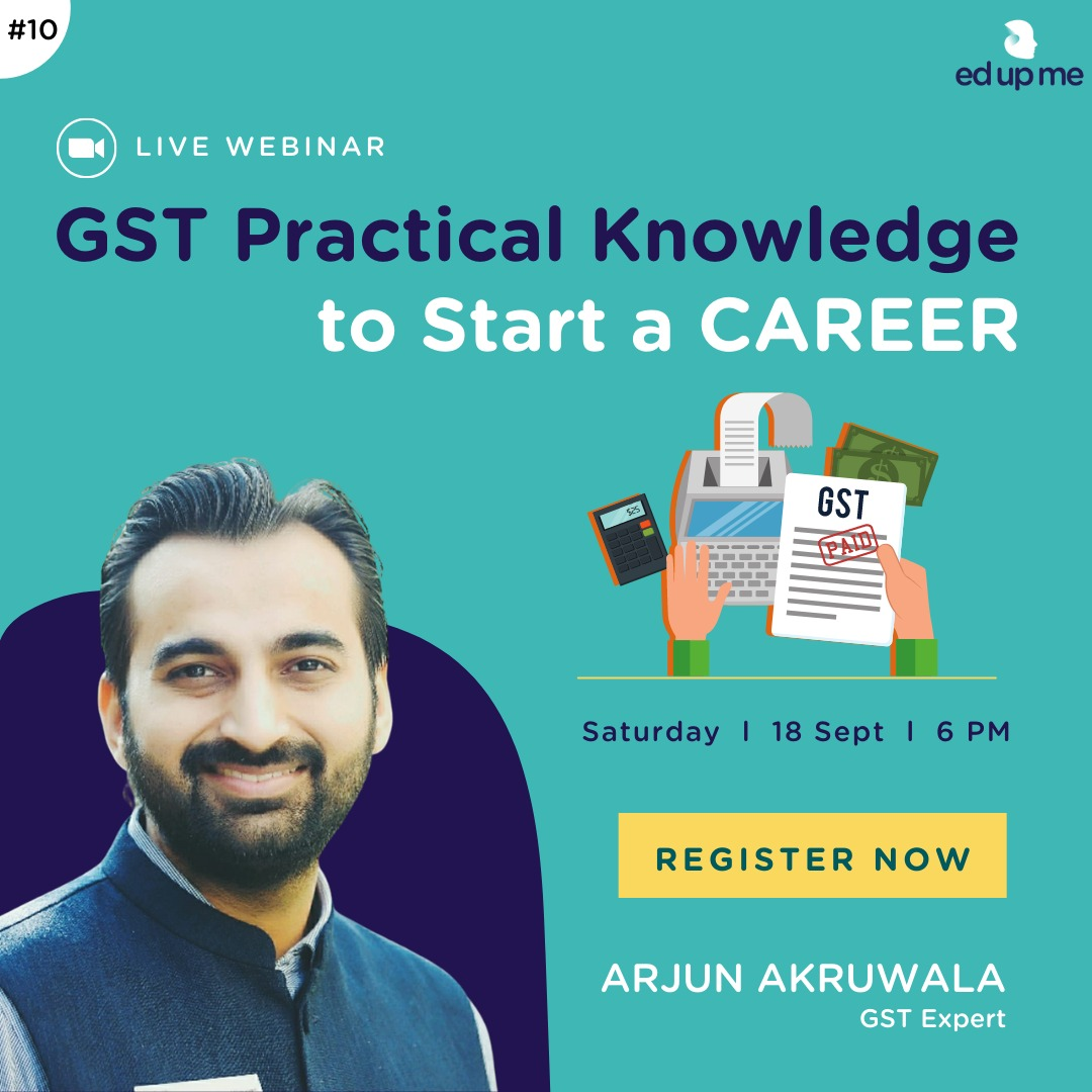 Free Webinar! GSt Practical Knowledge to start a career
