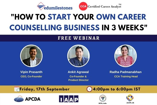 How to Start your own Career Counselling Business in 3 Weeks