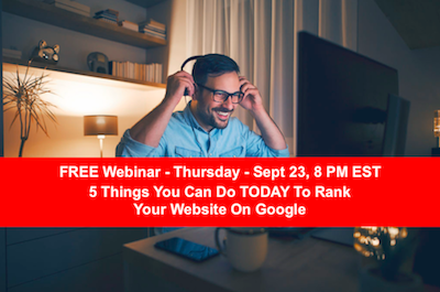 5 Things You Can Do Today to Rank Your Website on Google