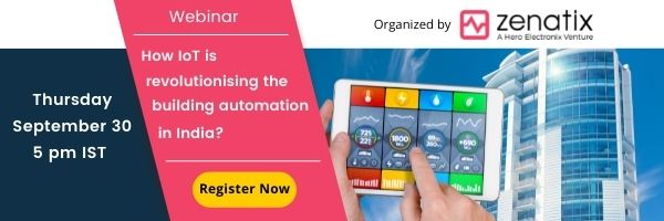 How IoT is revolutionising the building automation in India?
