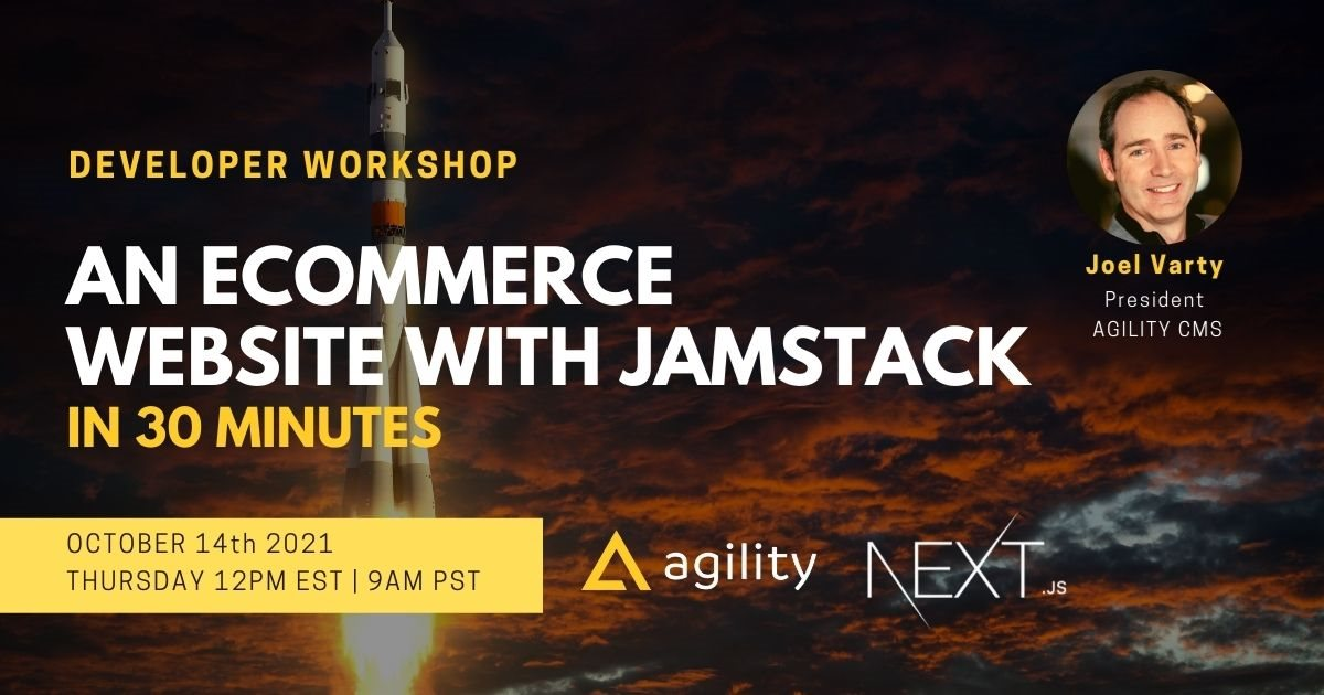 An Ecommerce Website with Jamstack in 30 minutes
