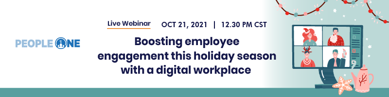 Boosting Employee Engagement this holiday season with a Digital Workplace