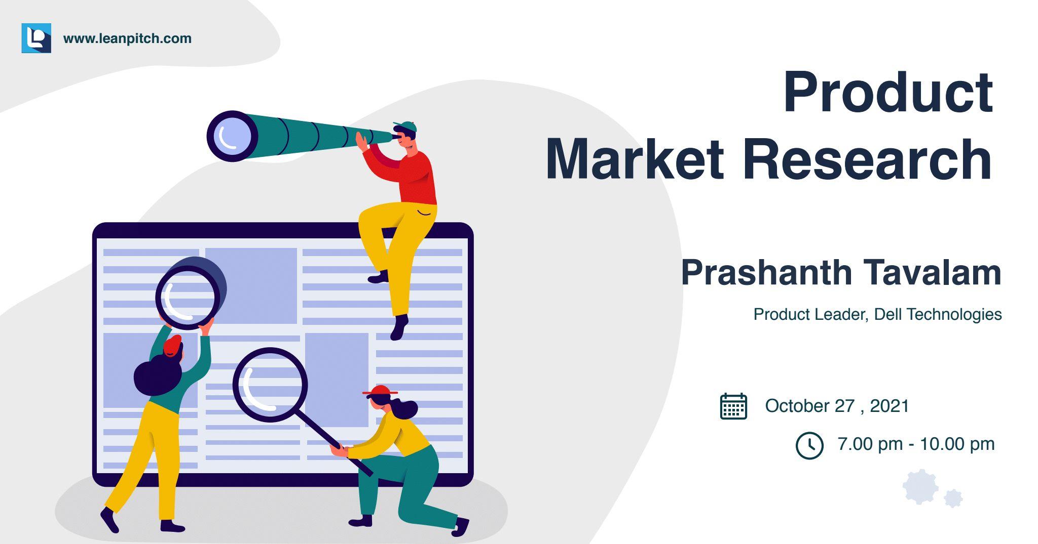 Crash Course: Product Market Research