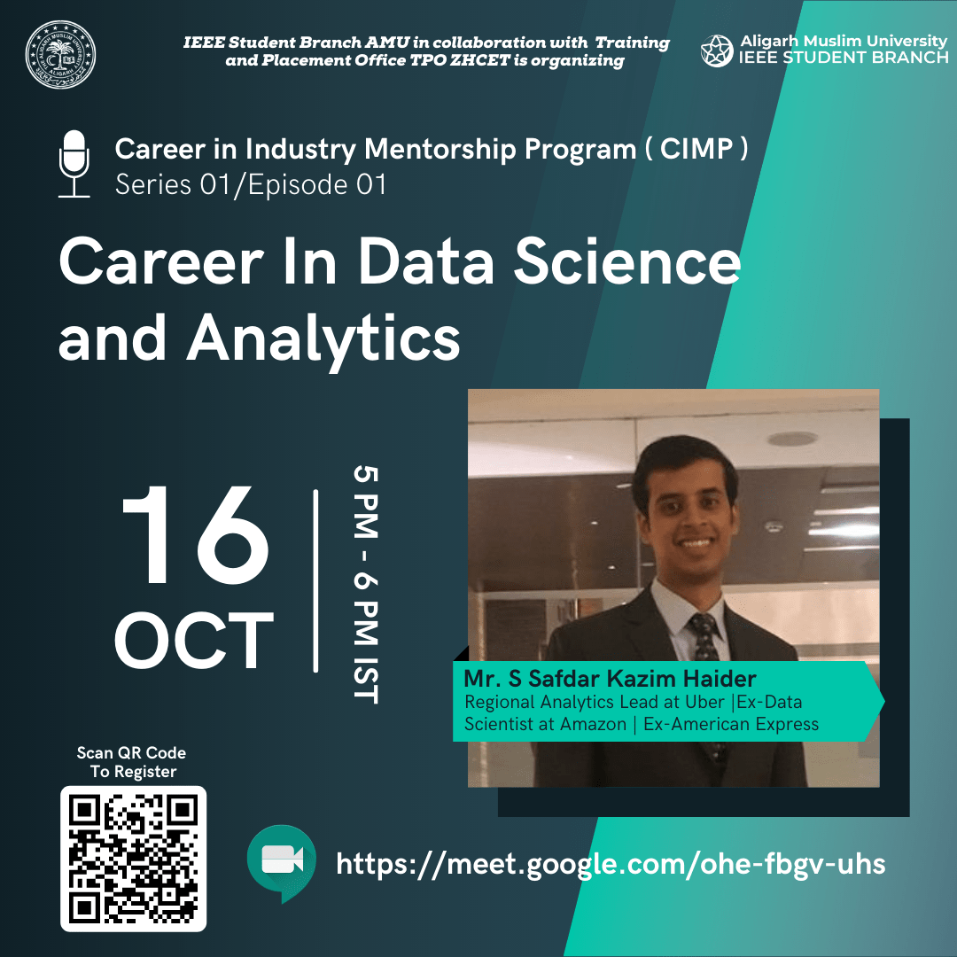 Career in Data Science and Analytics